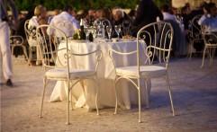 Il tavolo degli sposi all'aperto!