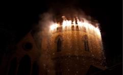 Fuochi d'artificio dal castello!