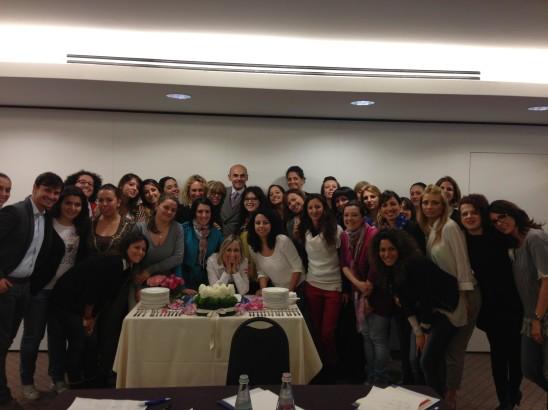 """Ecco """"Arancia e Cannella"""" al corso per Wedding Planner organizzato dalla Enzo Miccio Academy!!!"""
