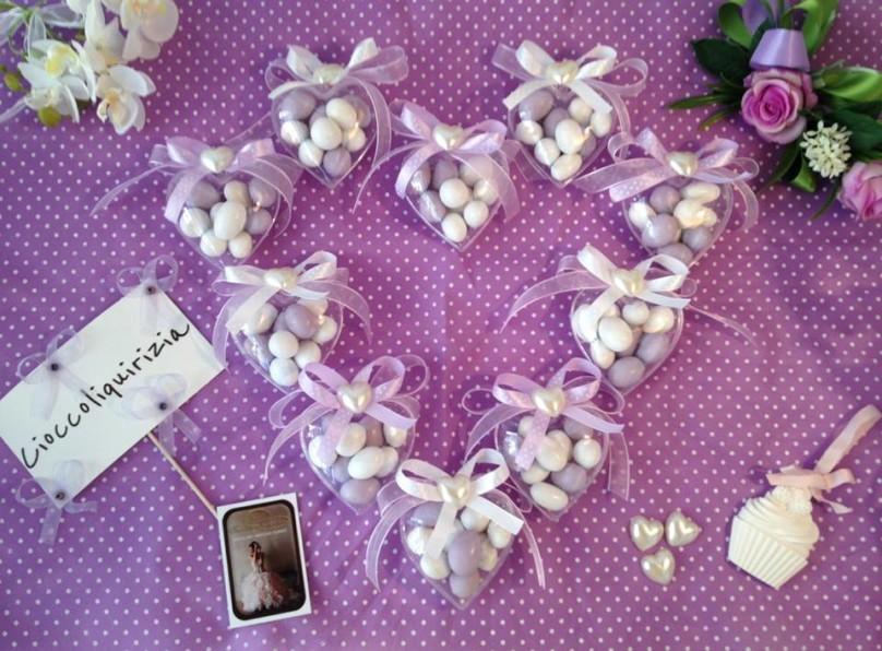 Un cuore di cuori…nel dolcissimo colore lilla.