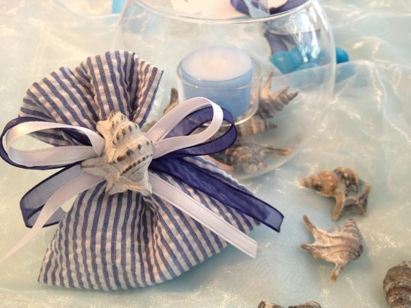 Il tema marino fa da padrone! Per gi amanti dell'azzuro!