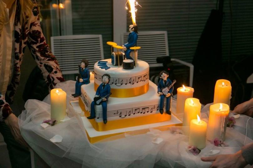 Torta Beatles!