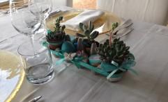 Centrotavola Pasquale…super creativo! Verde Tiffany.
