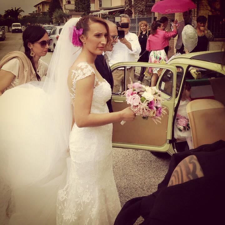 Una sposa incantevole!