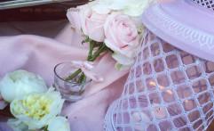 Colori pastello per un matrimonio romantico.