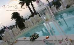 Sensazionale ricevimento a bordo piscina!