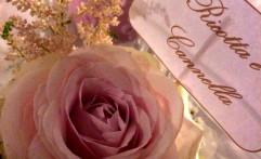 Dettagli floreali pastello.