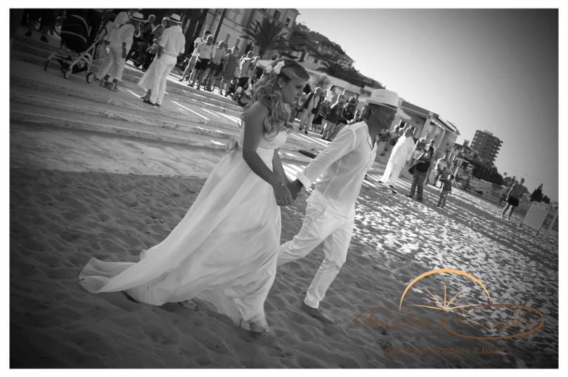 L'entrata dello sposo!