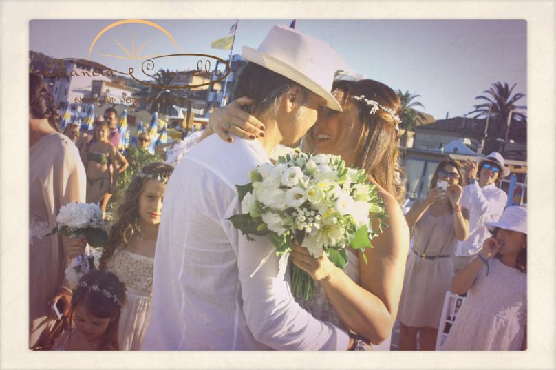 Il momento del bacio!
