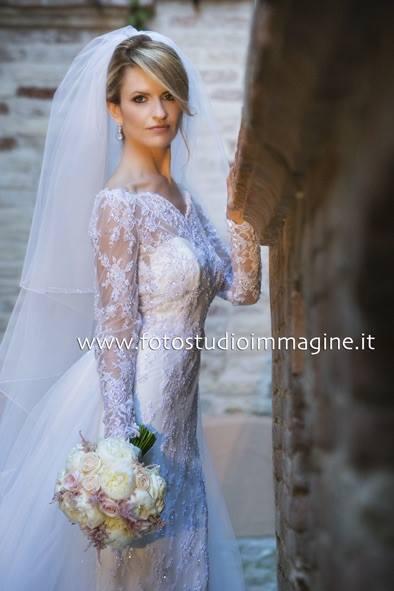 Al matrimonio di Antonio e Francesca…grande eleganza!