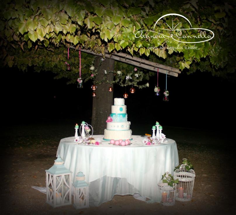 Un angolo di paradiso per la wedding cake!