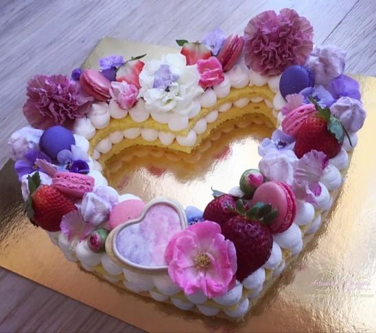 Una torta tutta speciale…per te! Buon San Valentino!